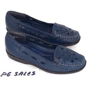 Dr. Scholls Women's Blue Loafer Shoes Sz 5.5